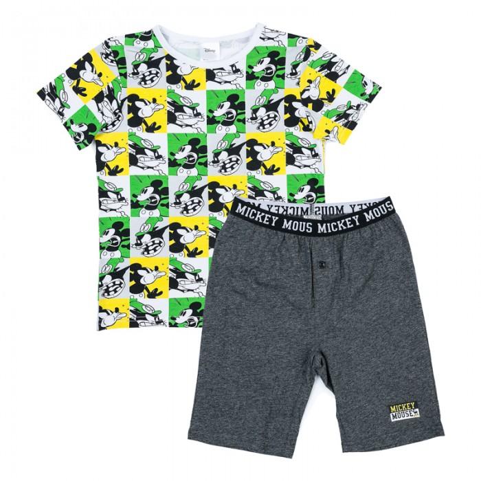 Комплекты детской одежды Playtoday Комплект трикотажный для мальчиков (футболка, шорты) Маленький переполох 575002
