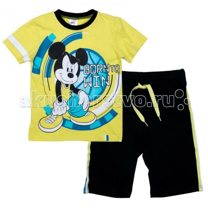 Комплекты детской одежды Playtoday Комплект трикотажный для мальчиков (футболка, шорты) Минута славы 570001