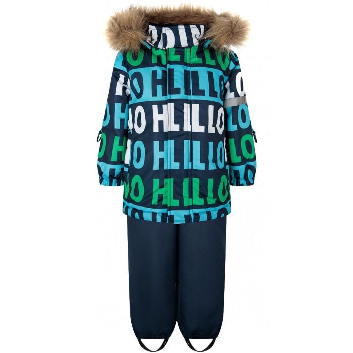 Playtoday Комплект утепленный: куртка и полукомбинезон Car collection baby boys