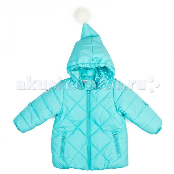 Playtoday Куртка детская текстильная для девочек Морозные кружева 378051Куртка детская текстильная для девочек Морозные кружева 378051Playtoday Куртка детская текстильная для девочек Морозные кружева 378051 на молнии. Вшивной капюшон сделан в виде колпака, декорированным помпоном из искусственного меха.   Внутренняя отделка выполнена из велюра в тон изделия. Светоотражатели обеспечат безопасноть ребенка в темное время суток.   Горловина, манжеты и низ изделия на мягких трикотажных резинках. Куртка дополнена оригинальным плотным утепленным шарфом из материала полностью повторяющего материал куртки.<br>