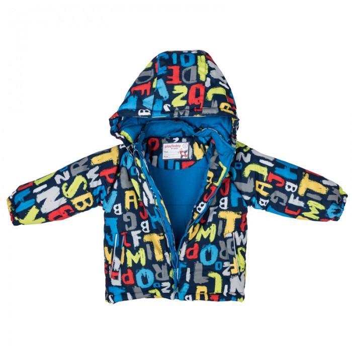 Куртки, пальто, пуховики Playtoday Куртка детская текстильная для мальчиков Веселый алфавит 377001 куртки пальто пуховики playtoday куртка текстильная для мальчиков пульс лондона 371001