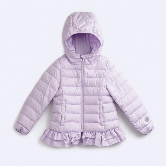 Playtoday Куртка для девочек Акварелька 192018Куртки, пальто, пуховики<br>Playtoday Куртка для девочек Акварелька 192018 это сочетание привлекательного дизайна и практичности.  Демисезонная куртка для девочек в однотонной трендовой расцветке. Модель выполнена из легко драпирующийся ткани с акриловым покрытием и зефирной отделкой, нежная рюша по низу изделия. Куртка дополнена удобными карманами по бокам, капюшоном, манжетами на мягкой резинке, светоотражающими элементами, застёгивается на молнию с клапаном для защиты подбородка.  Состав:   100% полиэстер, подкладка - 100% полиэстер, утеплитель - полиэстер 200 г/м2 Уход: Бережная автоматическая стирка при температуре до 30 гр.  PlayToday — одежда, которую хочется носить. Главным отличительным преимуществом торговой марки PlayToday является создание коллекций одежды, обуви и аксессуаров для детей на каждый день для любого случая жизни – дома, прогулок или занятий спортом, а также торжественных случаев. Таким образом, концептуально ассортимент основывается на распорядке дня ребенка. PlayToday – модная и удобная одежда для детей на каждый день, на каждый сезон.