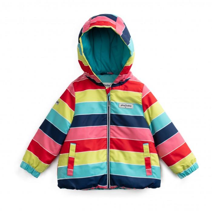 Playtoday Куртка для девочек Мисс кисточка 198011 фото