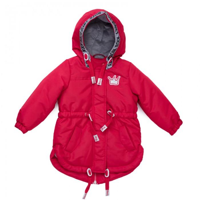 Куртки, пальто, пуховики Playtoday Куртка для девочек Забавный кролик 188001, Куртки, пальто, пуховики - артикул:450289