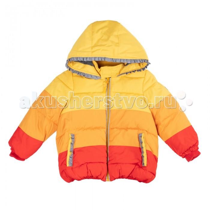 Playtoday Куртка для девочек Золотой сад 388003