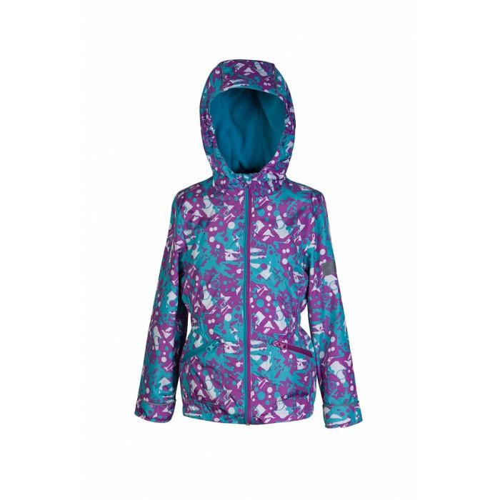 Ветровки, плащи, дождевики и жилеты Oldos Куртка для девочки Эсма куртка для девочки jicco by oldos 3к1717 эсма цвет сирень бирюзовый 92 4690205253828