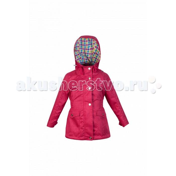 Детская одежда , Ветровки, плащи, дождевики и жилеты Oldos Куртка для девочки Флавия арт: 375619 -  Ветровки, плащи, дождевики и жилеты