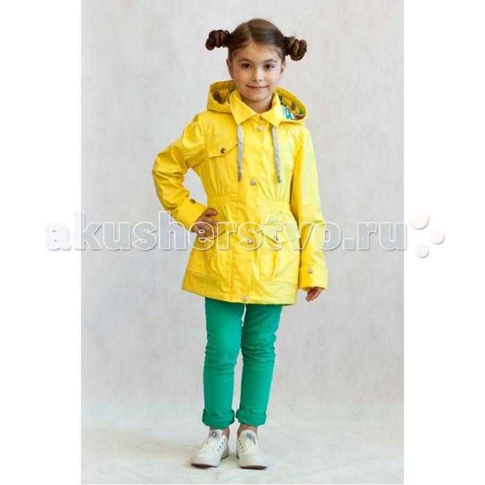 Детская одежда , Ветровки, плащи, дождевики и жилеты Oldos Куртка для девочки Лючия арт: 375579 -  Ветровки, плащи, дождевики и жилеты
