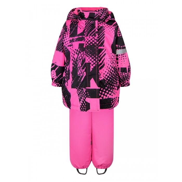Картинка для Утеплённые комплекты Playtoday Куртка и полукомбинезон для девочек Active baby girls 32023201