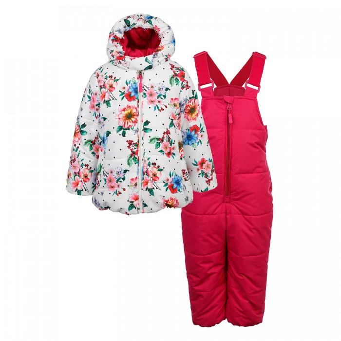 Картинка для Утеплённые комплекты Playtoday Куртка и полукомбинезон для девочек