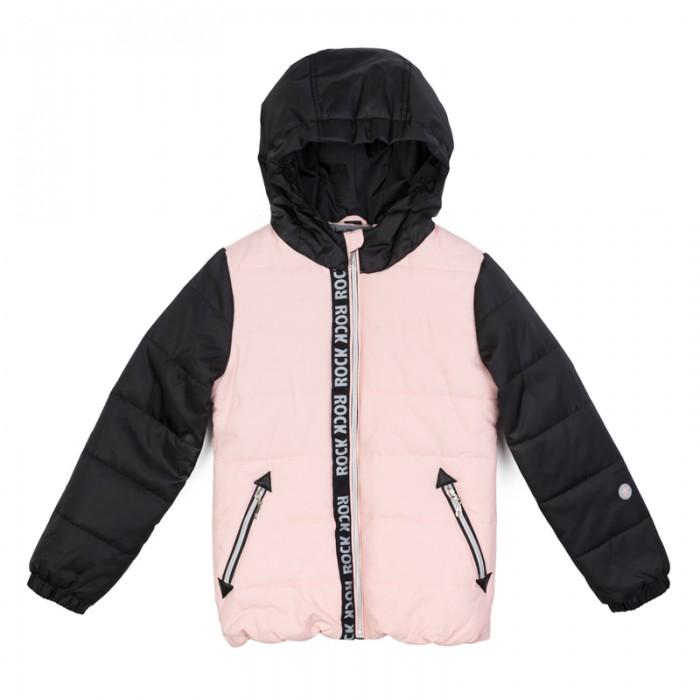 Куртки, пальто, пуховики Playtoday Куртка текстильная для девочек Рок-принцесса 182002, Куртки, пальто, пуховики - артикул:451544