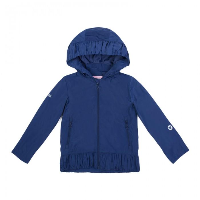 Куртки, пальто, пуховики Playtoday Куртка текстильная для девочек Утро в Париже 182055 аксессуары playtoday заколка для волос для девочек 4 шт утро в париже 182737