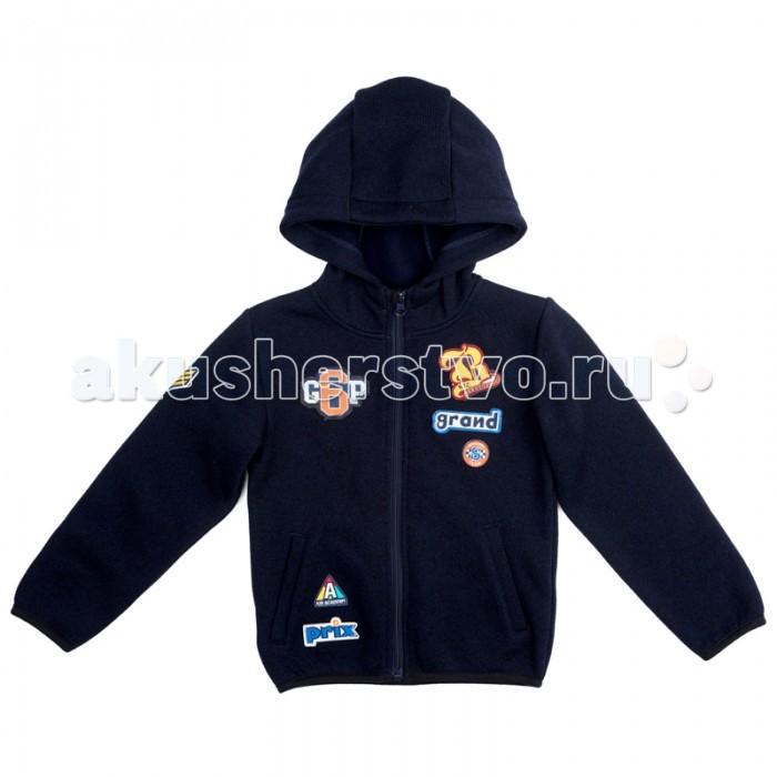 Детская одежда , Толстовки, свитшоты, худи Playtoday Куртка текстильная для мальчиков Драйв 371068 арт: 369663 -  Толстовки, свитшоты, худи