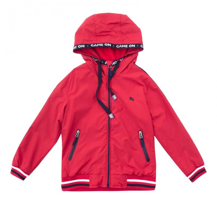 Детская одежда , Куртки, пальто, пуховики Playtoday Куртка текстильная для мальчиков Футбольный клуб 181002 арт: 459441 -  Куртки, пальто, пуховики