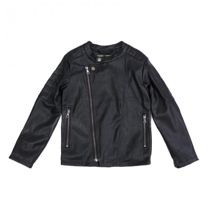 Куртки, пальто, пуховики Playtoday Куртка текстильная для мальчиков Рок-звезда 181080 куртки пальто пуховики playtoday куртка текстильная для мальчиков пульс лондона 371001