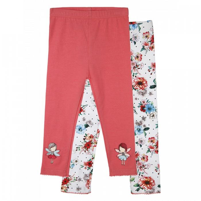 Купить Брюки и джинсы, Playtoday Леггинсы для девочек 12123321 2 шт.