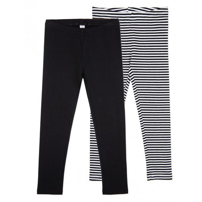 Купить Брюки и джинсы, Playtoday Леггинсы для девочек 2 шт. 120221017