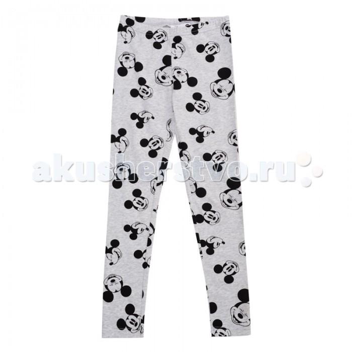 Брюки, джинсы и штанишки Playtoday Леггинсы для девочек Холодное Сияние 582008 одежда для детей