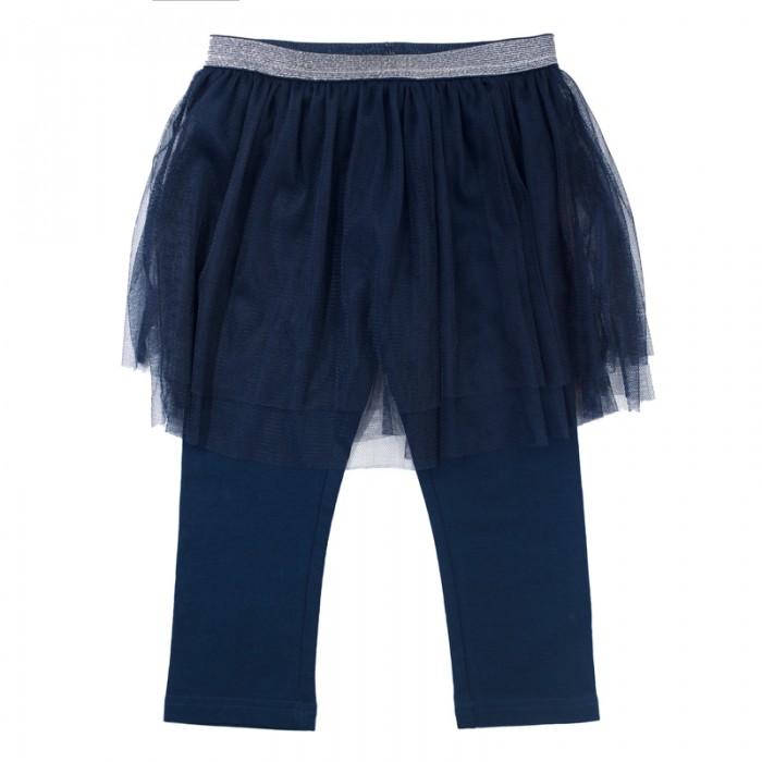 Брюки, джинсы и штанишки Playtoday Леггинсы для девочек Веселые старты 189003 одежда для детей