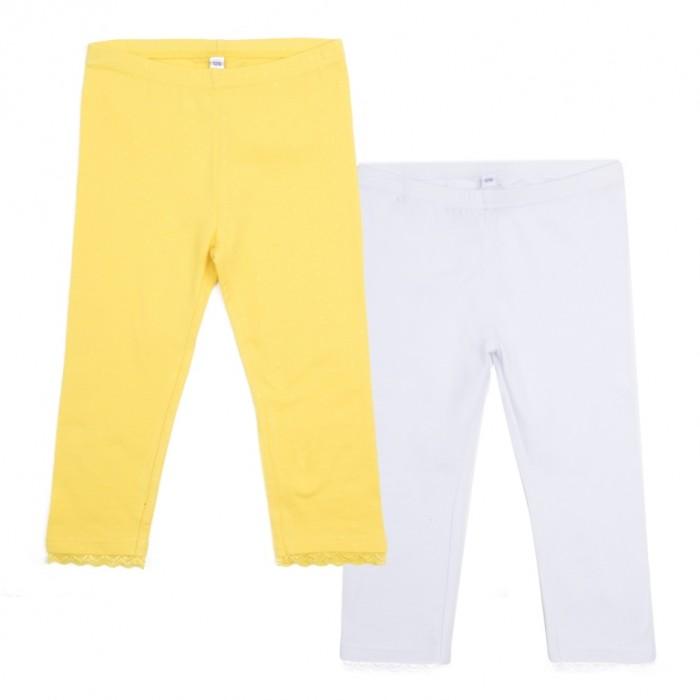 Брюки и джинсы Playtoday Леггинсы для девочки Летний букет 2 шт брюки и джинсы playtoday леггинсы для девочки meow 2 шт 398010