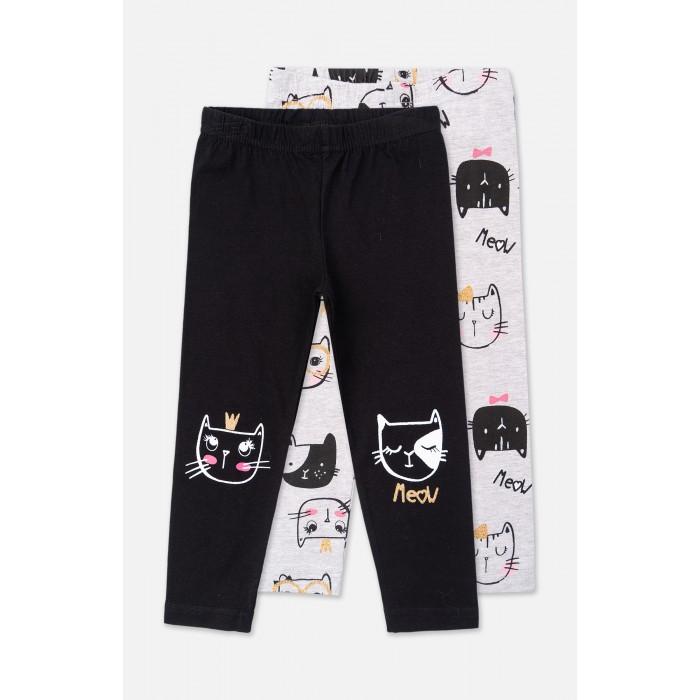 Брюки и джинсы Playtoday Леггинсы для девочки Meow 2 шт. 398010 брюки и джинсы playtoday леггинсы для девочки meow 2 шт 398010