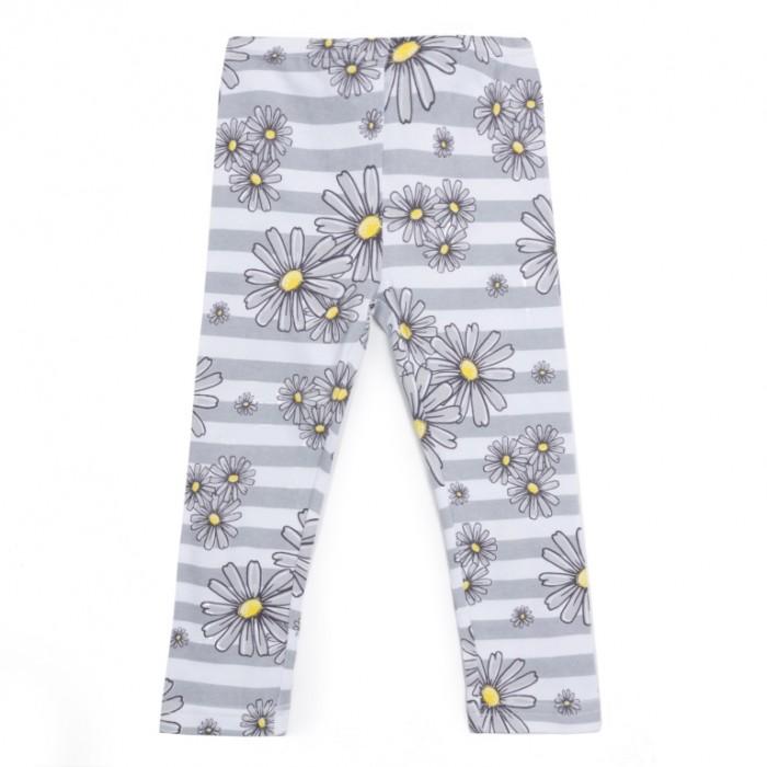 Брюки, джинсы и штанишки Playtoday Леггинсы для девочки Ромашковое лето брюки джинсы и штанишки coccodrillo леггинсы для девочки mouse j17122602mou 009