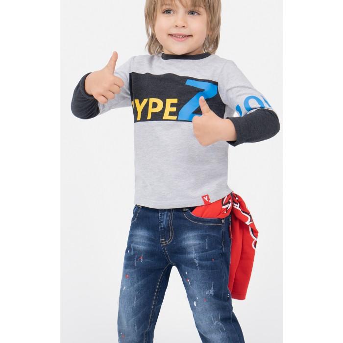 Картинка для Водолазки и лонгсливы Playtoday Лонгслив для мальчика Hype street 391009