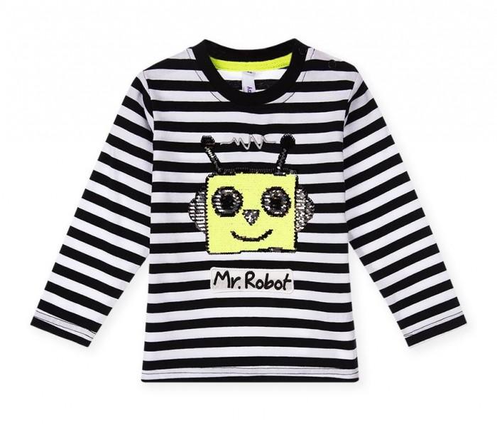 Водолазки и лонгсливы Playtoday Лонгслив для мальчика Mr.Robot 120312013 лонгслив playtoday лонгслив
