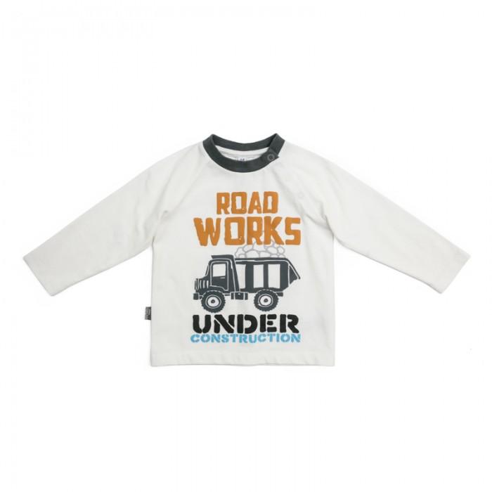 Водолазки и лонгсливы Playtoday Лонгслив для мальчиков Маленькие строители 187021 одежда для детей