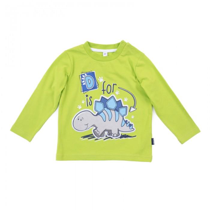 Водолазки и лонгсливы Playtoday Лонгслив для мальчиков Маленький динозаврик 187813 лонгслив playtoday playtoday mp002xg00740