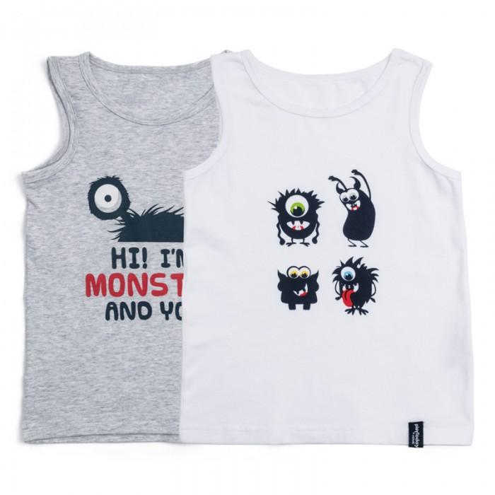 Детское белье Playtoday Майка для мальчиков Корпорация монстриков 2 шт. 185003 одежда для детей