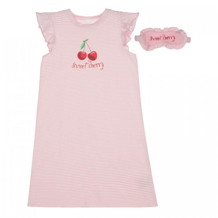 ночные сорочки pastilla ночная сорочка ваниль цвет голубой xl Домашняя одежда Playtoday Ночная сорочка с повязкой 12122052