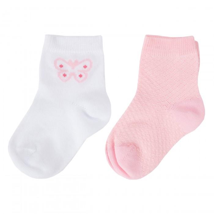 Фото - Колготки, носки, гетры Playtoday Носки детские трикотажные для девочек 2 пары Флоранс 188834 носки для девочек imixlot 5 6 24 cd09013 mu