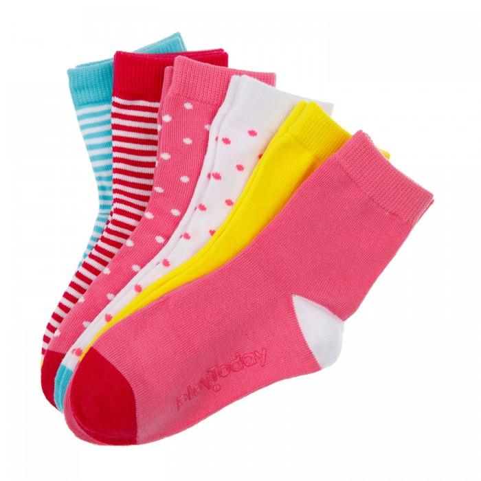 Белье и колготки Playtoday Носки для девочки 6 пар фото