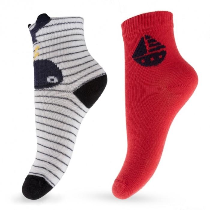 Колготки, носки, гетры Playtoday Носки для мальчика Большое плавание 2 пары