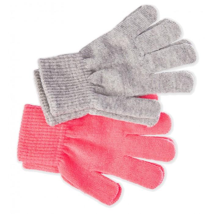 Шапки, варежки и шарфы Playtoday Перчатки для девочек 2 пары 120127009