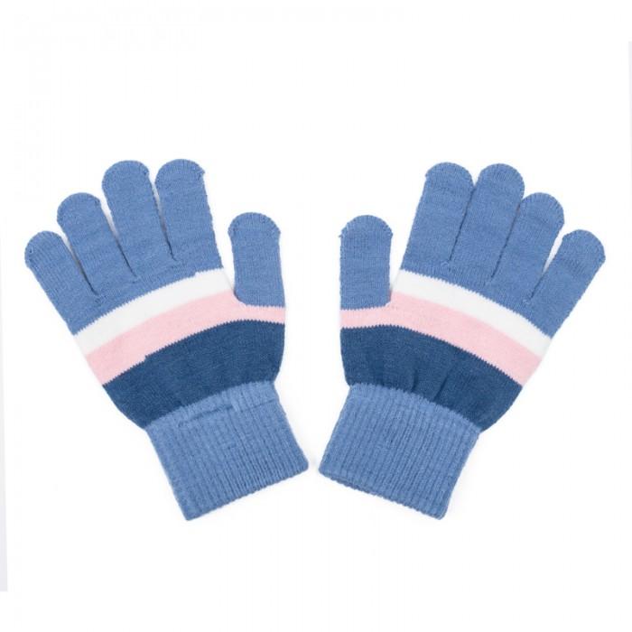 Варежки, перчатки и шарфы Playtoday Перчатки трикотажные для девочек Утро в Париже 182079 варежки  перчатки и шарфы jollein шарф confetti knit