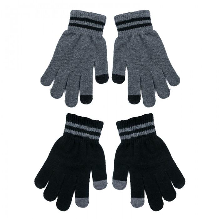 Варежки, перчатки и шарфы Playtoday Перчатки трикотажные для мальчиков 2 пары Пульс Лондона 371031 варежки  перчатки и шарфы jollein шарф confetti knit