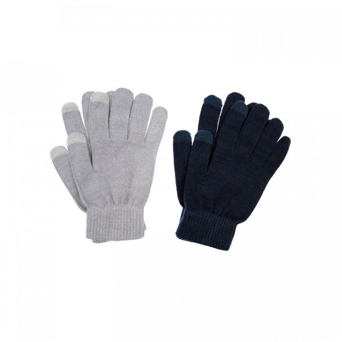 Шапки, варежки и шарфы Playtoday Перчатки вязаные для девочки 22127254 2 пары