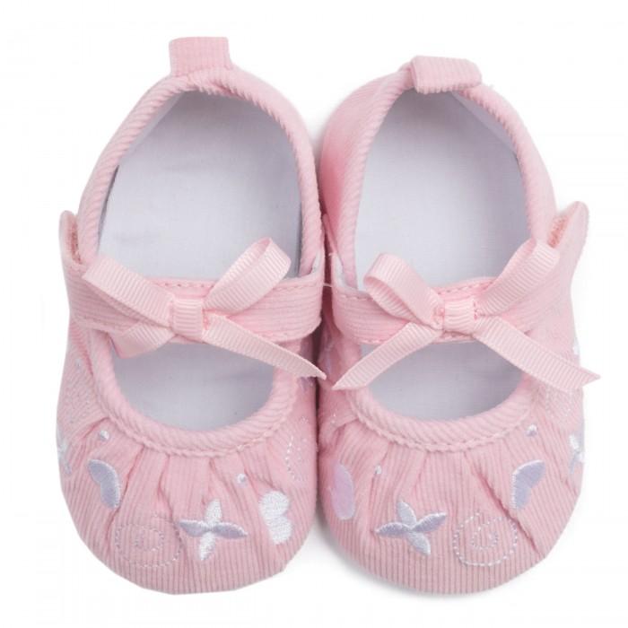 обувь для девочек Обувь и пинетки Playtoday Пинетки детские для девочек Флоранс 188836