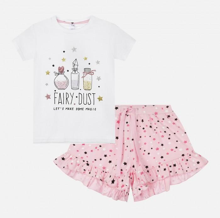 Купить Домашняя одежда, Playtoday Пижама для девочки 120224002