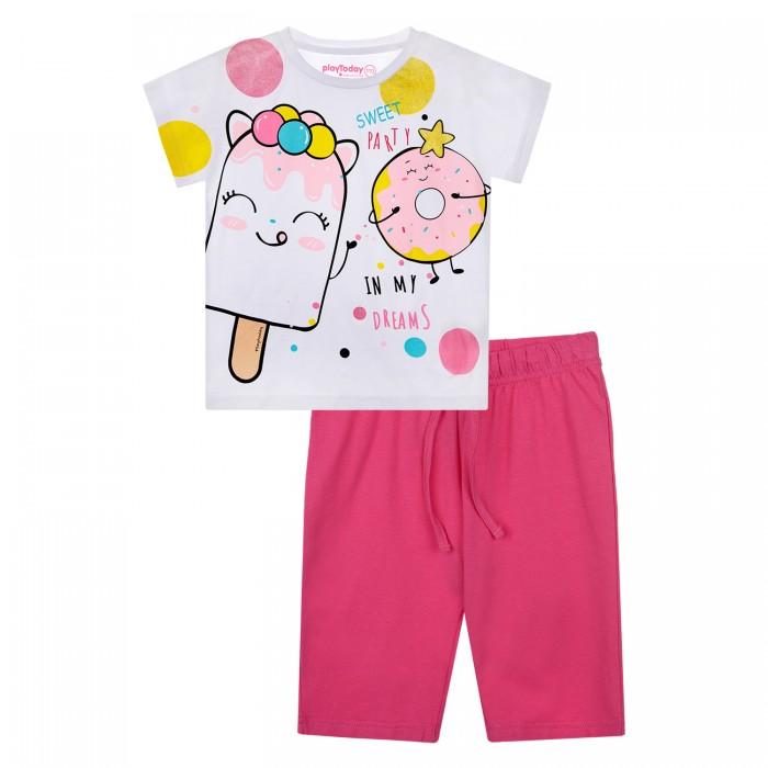 Фото - Домашняя одежда Playtoday Пижама для девочки 12122080 домашняя одежда mayoral newborn пижама для девочки 2758