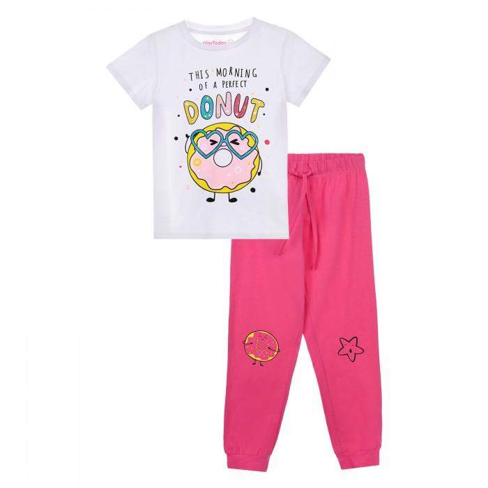 Фото - Домашняя одежда Playtoday Пижама для девочки 12122081 домашняя одежда mayoral newborn пижама для девочки 2758