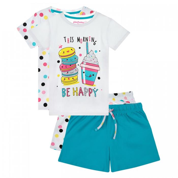 Фото - Домашняя одежда Playtoday Пижама для девочки 12122083 2 шт. домашняя одежда mayoral newborn пижама для девочки 2758