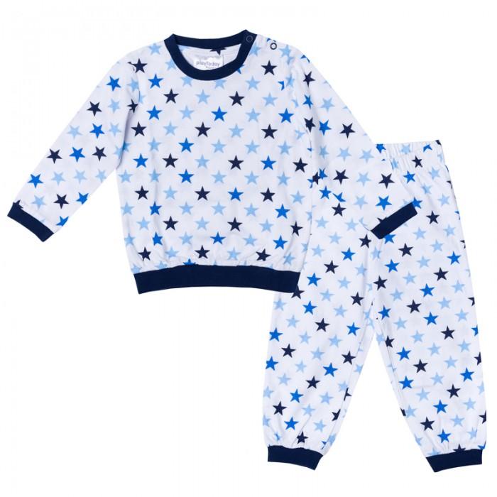 Пижамы и ночные сорочки Playtoday Пижама для мальчика Веселый алфавит 177031 пижамы артишок пижама герой