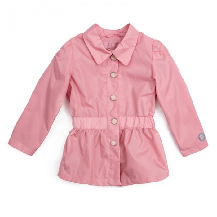 Ветровки, плащи, дождевики и жилеты Playtoday Плащ текстильный для девочек Утро в Париже 182056
