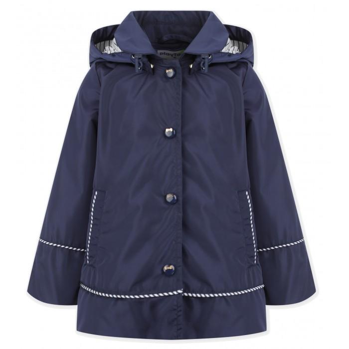 Купить Верхняя одежда, Playtoday Плащ-ветровка для девочек 120327004