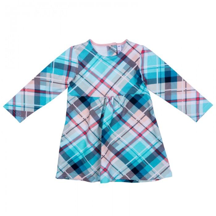 Детские платья и сарафаны Playtoday Платье детское трикотажное для девочек Морозные кружева 378072 платья для девочек