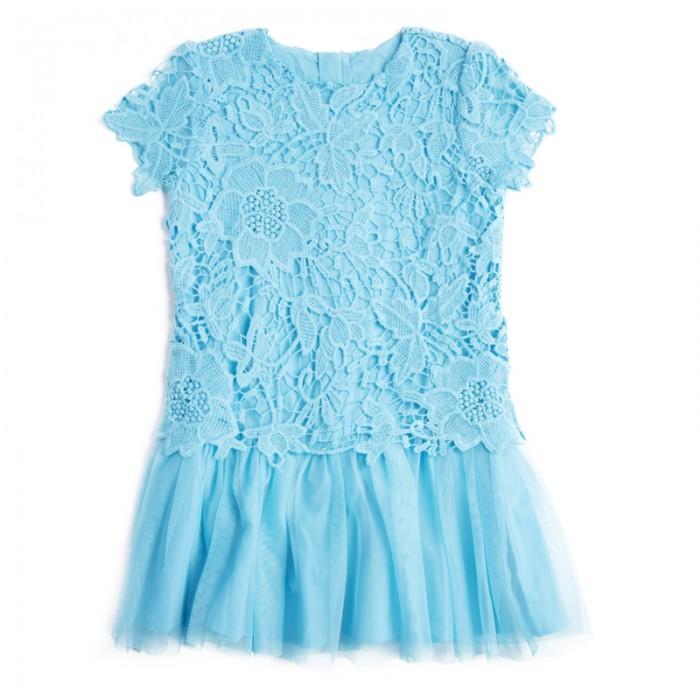 Детские платья и сарафаны Playtoday Платье для девочек Пионы 182107