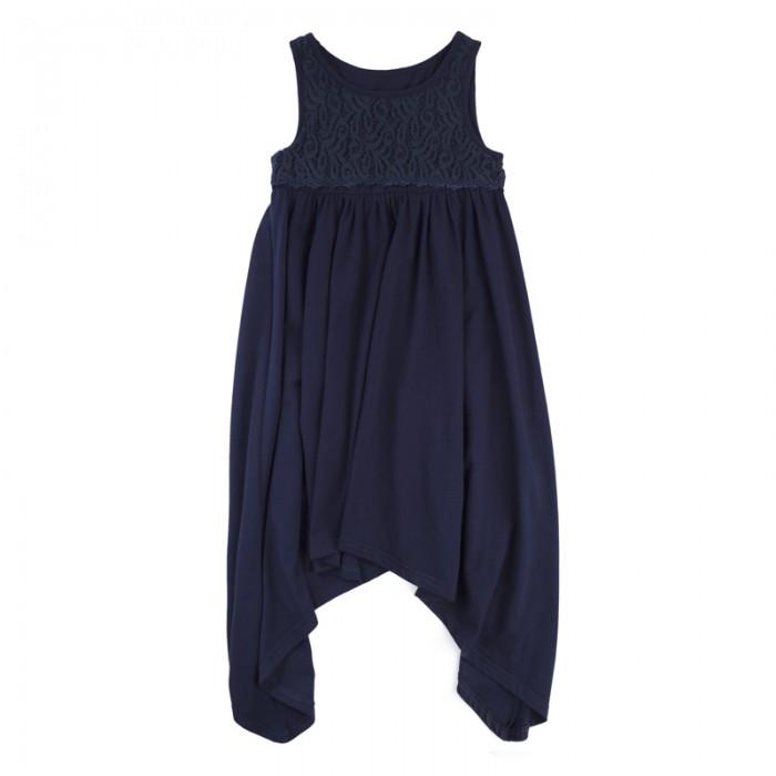 Детские платья и сарафаны Playtoday Платье для девочек Пионы 182122 платья для девочек платья для девочек
